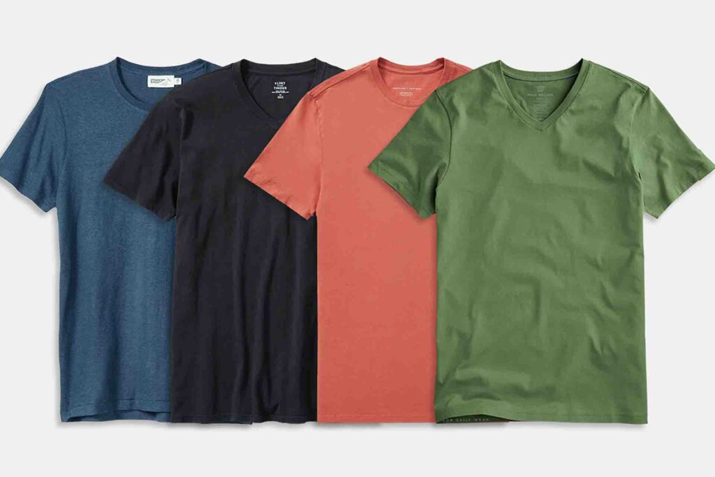 How To Select The Right Type Of Men's T-Shirts