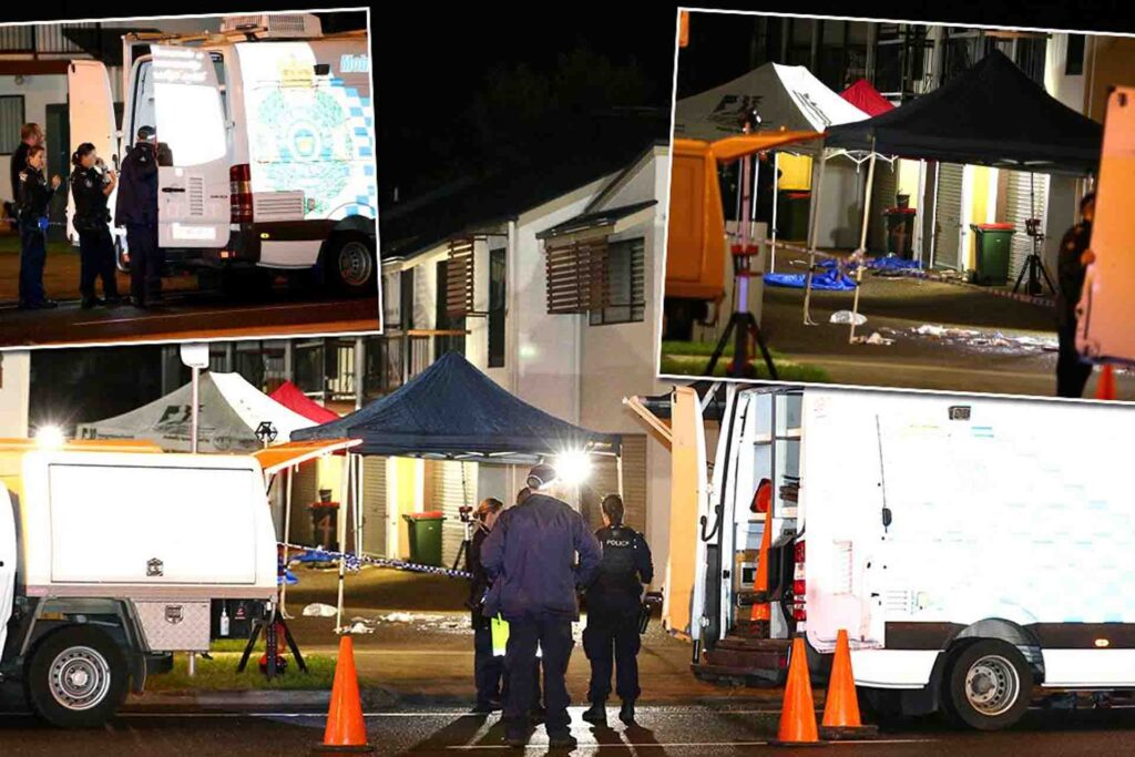 Man charged with murder over alleged double shooting in Caboolture north of Brisbane