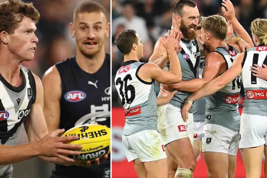 Mitch Georgiades shines for Port Adelaide as the Greek helps Power reach top-four