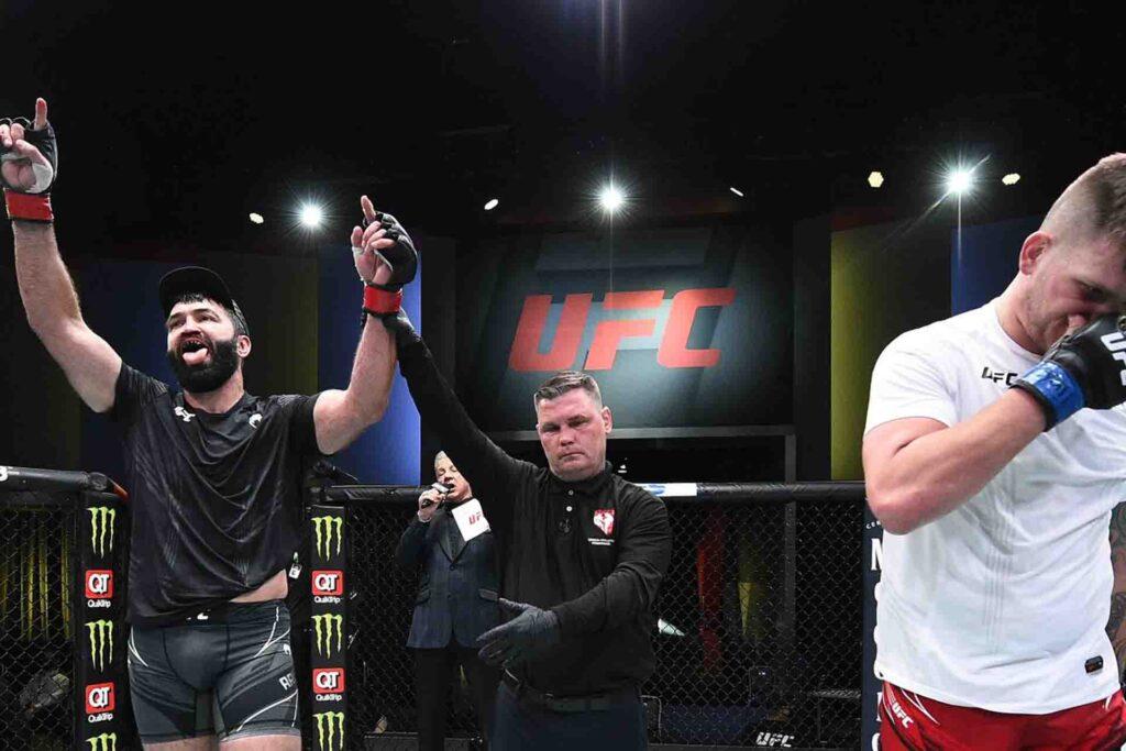 UFC Vegas 24 Results Jacob Malkoun Dominates Abdul Razak Alhassan, Wins Decision